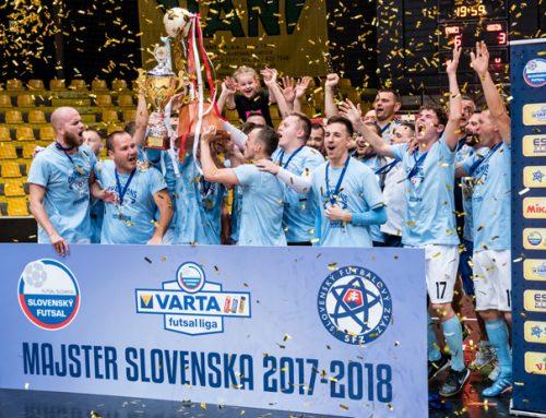 ŠK Slovan Bratislava futsal ovládl slovenskou VARTA ligu!