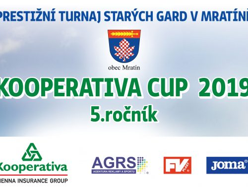 AGRS v spolupráci se společností Kooperativa organizátorem turnaje starých gard v Mratíně!