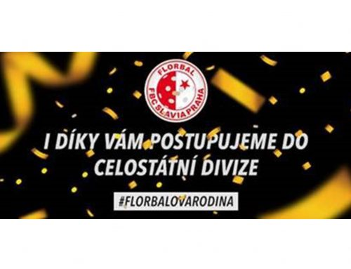 FBC Slavia Praha postupuje do celostátní divize!