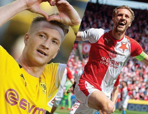 Ve středu přivítá fotbalová Slavie Borusii Dortmund!