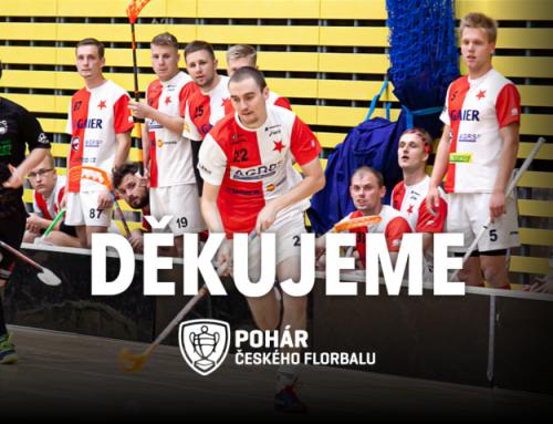 Muži FBC Slavia Praha došli v Poháru premiérově až do 3. kola