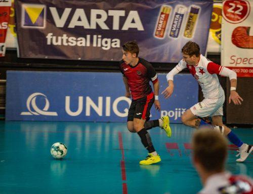 Futsalová Slavia vyhrála v Liberci o dvě branky