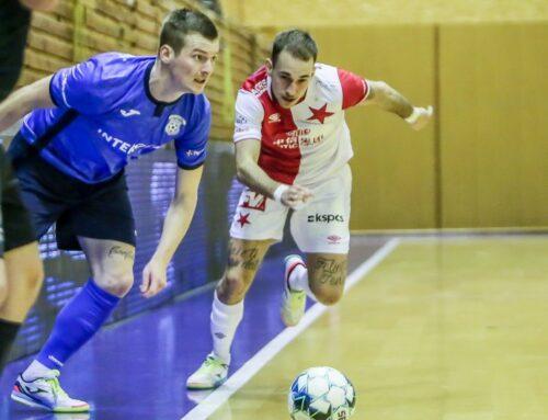 SOUHRN TÝDNE futsalové ligy: Trenér Frič debutoval ve Slavii prohrou na palubovce Chrudimi